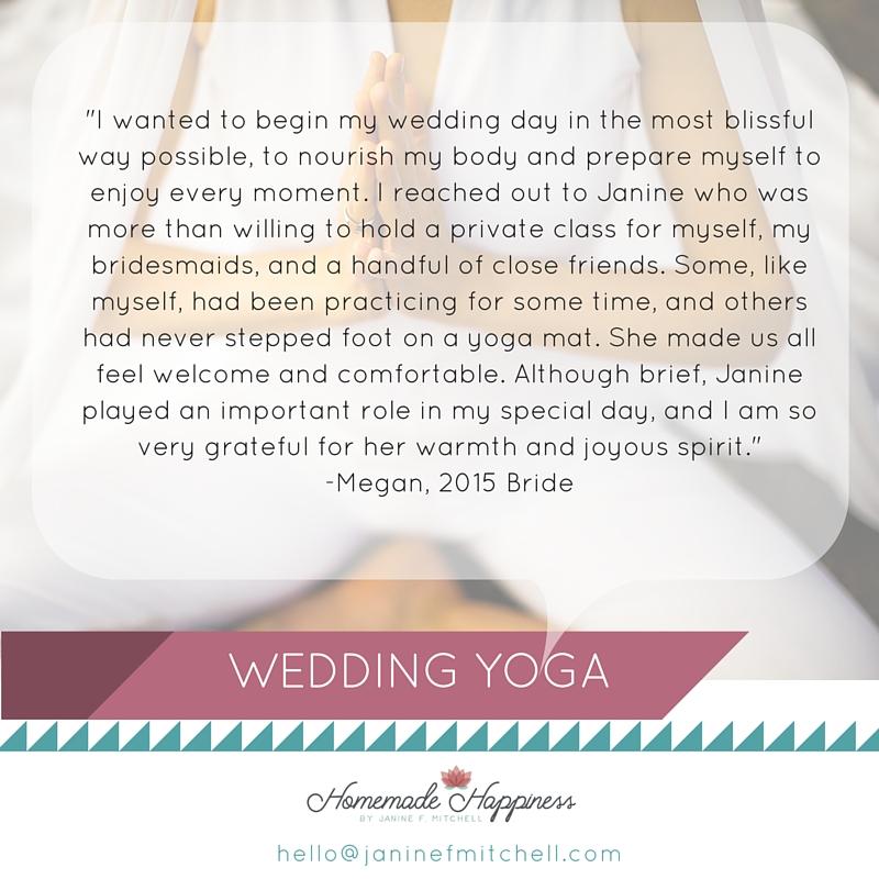 WEDDING YOGA (quote)
